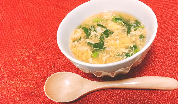簡単で栄養たっぷり!クレソンのかきたま和風スープのレシピ
