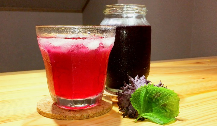 ゴクゴク飲める「健康美容ジュース」!?夏のしそジュースのレシピ