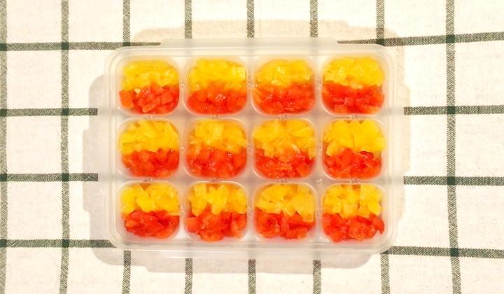 【離乳食中期~OK】食卓彩るパプリカの下ごしらえ&ストック方法