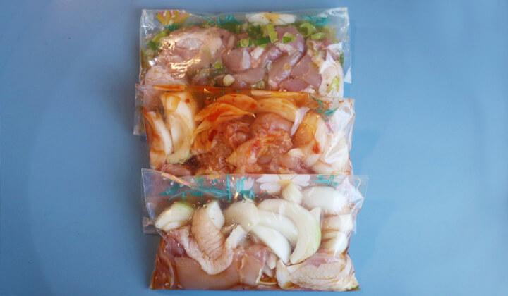 親子 丼 下味 冷凍