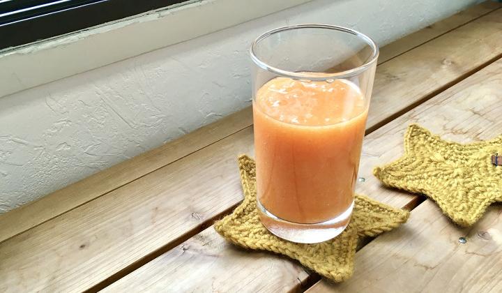 季節の変わり目に飲みたい!風邪予防や美肌効果にいい柿のスムージー