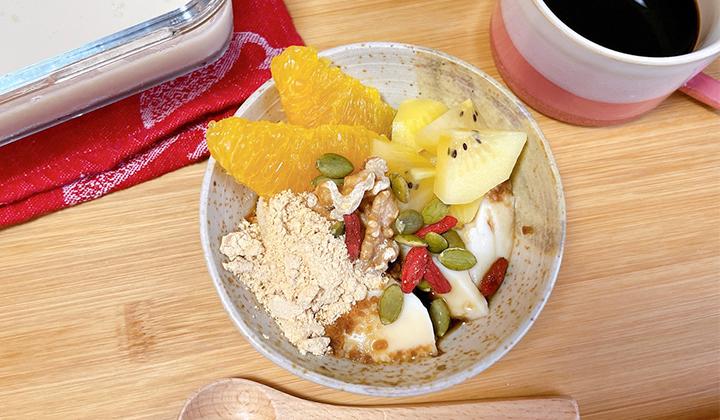 疲れ、肌荒れのときに食べたい!ほんのり甘い台湾スイーツ豆花レシピ